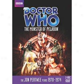 Doctor Who The Monster Of Peladon Dvd
