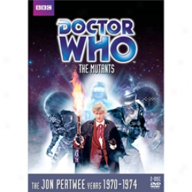 Doctor Who The Mutants Dvd
