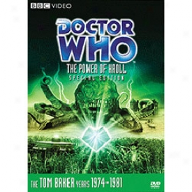 Doctor Who The Power Of Kroll Special Edition Dvd