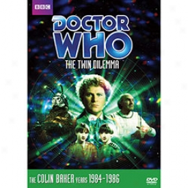 Doctor Who The Twin Dilemma Dvd