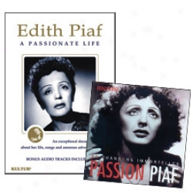 Edith Piaf Collection Dvd And Cd