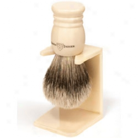 Edwin Jagger Super Badger Brush & Stand