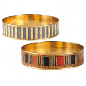 Egyptian Bangles Set Of 2