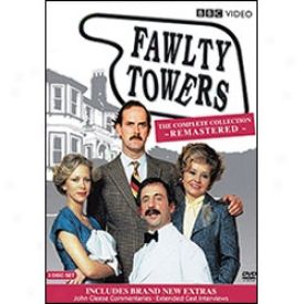 Fawlty Toers Remastered Special Edition Dvd