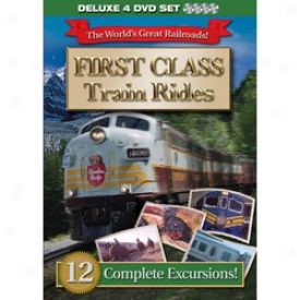 First Class Train Rides DeluxeE dition Dvd