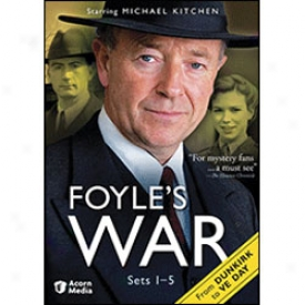 Foyle's War From Dunkirk To Ve Day, Set 1-5 Dvd