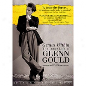 Genius Within Mode  Glenn Gould Dvd Or Blu-ray