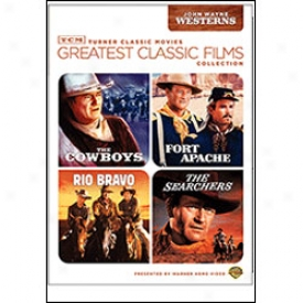 Greatest Classic Films Collection John Wayne Westerns Dvd