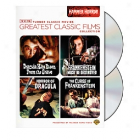 Greatest Classic Films Hammer Horror Dvd