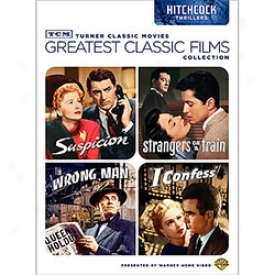 Greatest Classic Films Hitchcock Thrillers Dvd