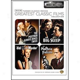 Greatest Classic Films Murder Mysteries Dvd