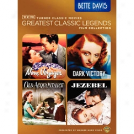 Greatest Classic Lrends Collection Bette Davis Dvd