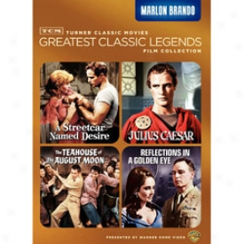 Greatest Classic Legends Film Collection Marlon Brando Dvd