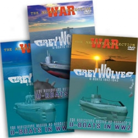 Grey Wolves Uboat War 1939-1945 Dvd