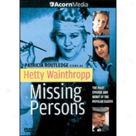Hetty Wainthropp Investigates Missing Perqons Dvd