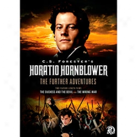 Horatio Hornblower The Further Advnetures Dvd