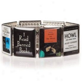 I Read Banned Books Bracelet