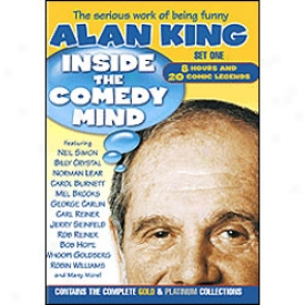 Inside The Comedy Mind Set 1 Dvd