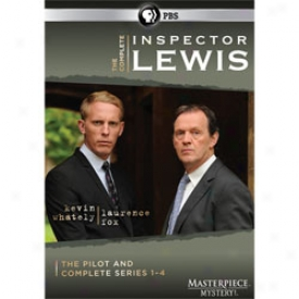 Inspector Lewis Complete Series 1-4 Dvd
