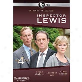 Inspector Lewis Series 4 Dvd