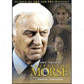 Inspector Morse Absolute Conviction Dvd