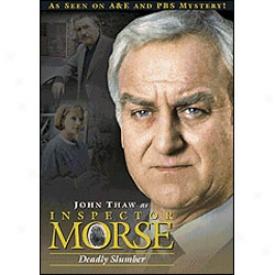 Inspector Morse Deadly Slumber Dvd
