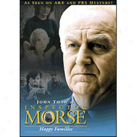 Inspector Morse Happy Families Dvd