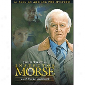 Inspector Morse Laxt Bus To Woodstock Dvd