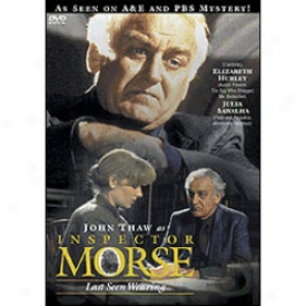 Inspector Morse Lasst Seen Wearing Dvd
