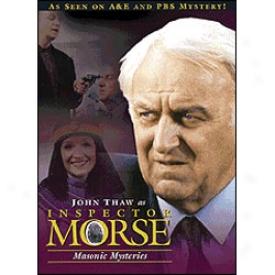 Inspector Morse Masonic Mysteries Dvd