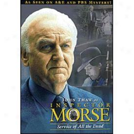 Inspector Morse Service Of All The Dead Dvd