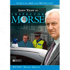 Inspector Morse Set Five Masonic Mysteries Dvd