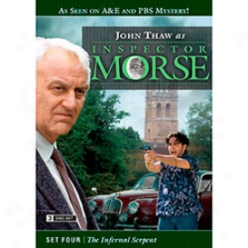 Inspector Morse Set Four The Diabolical Serpent Dvd