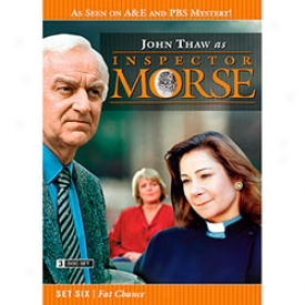 Inspector Morse Set Six Fat Chance Dvd