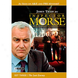 Inspector Morse Set Three The Last Enemy Dvd