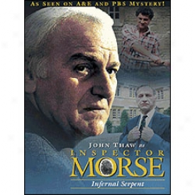 Inspector Morse The Infernal Serpent Dvd