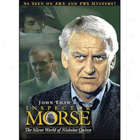 Inspector Morse The Silent Public Of Nicholas Quinn Dvd