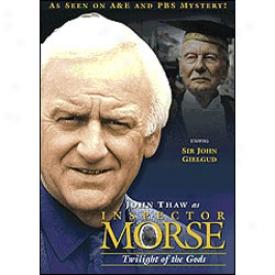 Inspector Morse Dim light Of The Gods Dvd