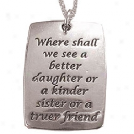 Jane Austen Quote Pendnt Necklace