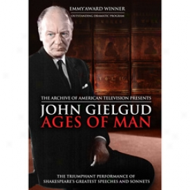 John Gielgud Ages Of Man Dvd