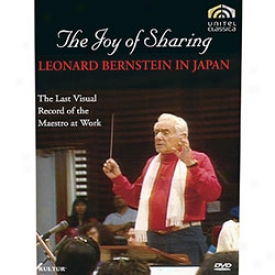 Joy Of Sharing Leonard Bernstein In Japan Dvd