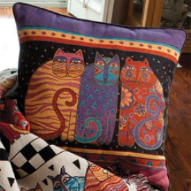 Laurel Burch Pillow