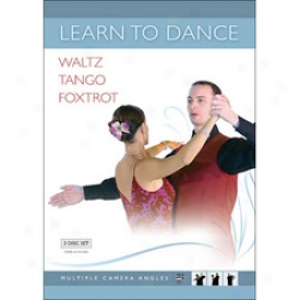 Learn To Dance Waltz Tango And Foxtrot