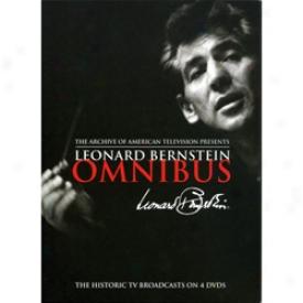 Leonard Bernstein Omnibus Dvd