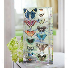 Mariposa Tiffany Vase