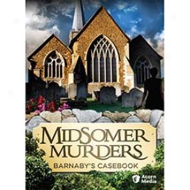 Midsomer Murders Barnaby's Casebook Dvd
