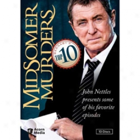 Midsomer Murders Barnaby's Top 10 Dvd