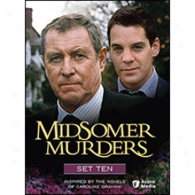 Midsomer Murders Set 10 Dvd