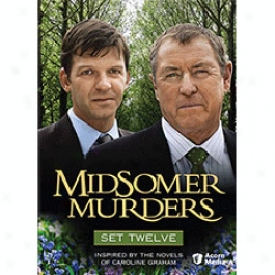 Midsomer Murders Set 12 Dvd
