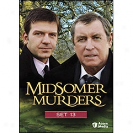Midsomef Murders Set 13 Dvd